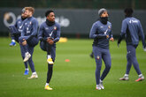 Gallery: Finishing touches for Man City