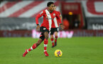 SOUTHAMPTON, ENGLAND - DECEMBER 19: Kyle Walker-Peters of Southampton during the Premier League match between Southampton and Manchester City at St Mary's Stadium on December 19, 2020 in Southampton, England. A limited number of fans (2000) are welcomed back to stadiums to watch elite football across England. This was following easing of restrictions on spectators in tiers one and two areas only. (Photo by Matt Watson/Southampton FC via Getty Images)