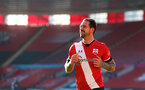 SOUTHAMPTON, ENGLAND - JANUARY 23: Danny Ings of during the FA Cup fourth round match between Southampton FC and Arsenal FC, at St.Mary's stadium, on January 23, 2021 in Southampton, England. Sporting stadiums around the UK remain under strict restrictions due to the Coronavirus Pandemic as Government social distancing laws prohibit fans inside venues resulting in games being played behind closed doors. (Photo by Matt Watson/Southampton FC via Getty Images)