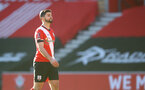 SOUTHAMPTON, ENGLAND - JANUARY 23: Shane Long of Southampton during the FA Cup fourth round match between Southampton FC and Arsenal FC, at St.Mary's stadium, on January 23, 2021 in Southampton, England. Sporting stadiums around the UK remain under strict restrictions due to the Coronavirus Pandemic as Government social distancing laws prohibit fans inside venues resulting in games being played behind closed doors. (Photo by Matt Watson/Southampton FC via Getty Images)