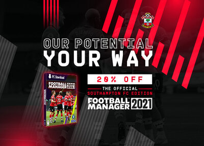 Football Manager 2021: Exclusive deal for Saints fans