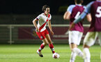 LONDON, ENGLAND - JANUARY 29: Ethan Burnett of Southampton during the Premier League 2 match between West Ham United and Southampton B Team at Rush Green Training Ground on January 29, 2021 in London, England. (Photo by Isabelle Field/Southampton FC via Getty Images)
