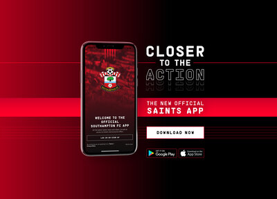 Saints launch new official mobile app