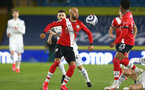 LEEDS, ENGLAND - FEBRUARY 23: Nathan Redmond of Southampton during the Premier League match between Leeds United and Southampton at Elland Road on February 23, 2021 in Leeds, England. Sporting stadiums around the UK remain under strict restrictions due to the Coronavirus Pandemic as Government social distancing laws prohibit fans inside venues resulting in games being played behind closed doors. (Photo by Matt Watson/Southampton FC via Getty Images)