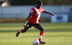 SOUTHAMPTON, ENGLAND - FEBRUARY 27: Lucas Defise of Southampton during Premier League 2 match between Southampton B Team and Manchester United U23s at The Snows Stadium on February 27, 2021 in Southampton, England. (Photo by Isabelle Field/Southampton FC via Getty Images)