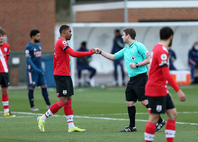 PL2 Gallery: Saints 2-2 Arsenal