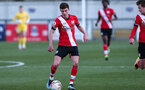 SOUTHAMPTON, ENGLAND - MARCH 06: James Morris during the Premier League 2 match between  Southampton B Team and Arsenal at Snows Stadium on March 06, 2021 in Southampton, England. (Photo by Chris Moorhouse/Southampton FC via Getty Images)