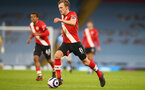 MANCHESTER, ENGLAND - MARCH 10: James Ward-Prowse of Southampton during the Premier League match between Manchester City and Southampton at Etihad Stadium on March 10, 2021 in Manchester, England. Sporting stadiums around the UK remain under strict restrictions due to the Coronavirus Pandemic as Government social distancing laws prohibit fans inside venues resulting in games being played behind closed doors. (Photo by Matt Watson/Southampton FC via Getty Images)
