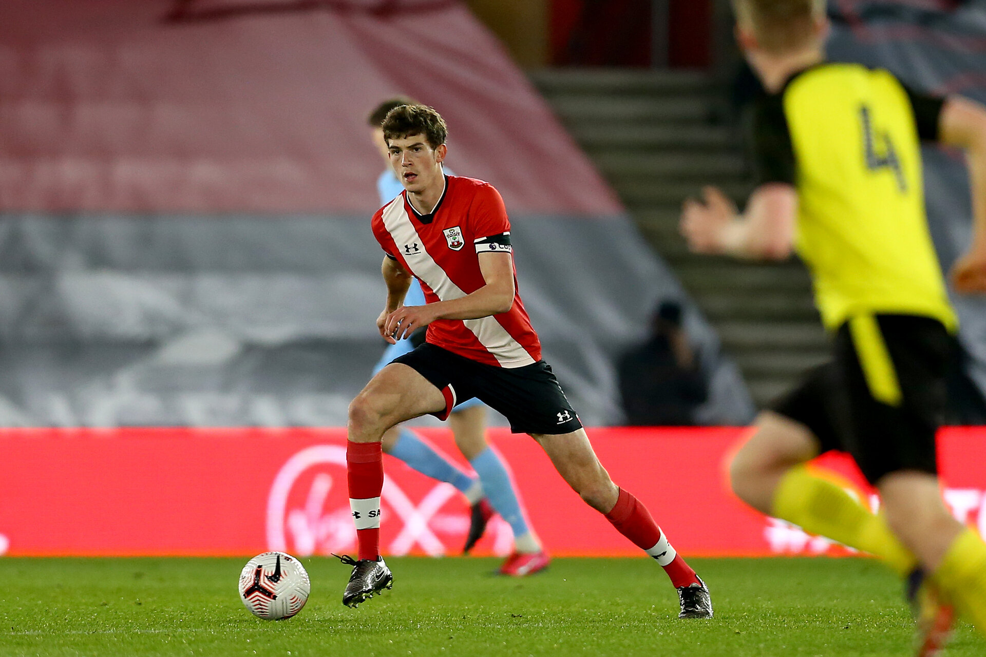 SOUTHAMPTON, ENGLAND - MARCH 23:  during the FA Youth Cup fourth round match between Southampton and Burton Albion at St Mary's Stadium on March 23, 2021 in Southampton, England. (Photo by Isabelle Field/Southampton FC via Getty Images)