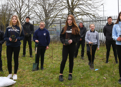 Saints plant 1,250 trees as part of Home Grown Initiative