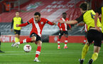 SOUTHAMPTON, ENGLAND - MARCH 23: Jayden Smith of Southampton during the FA Youth Cup fourth round match between Southampton and Burton Albion at St Mary's Stadium on March 23, 2021 in Southampton, England. (Photo by Isabelle Field/Southampton FC via Getty Images)