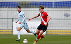 SOUTHAMPTON, ENGLAND - MARCH 27: Ryan Finnigan (R) of Southampton during the Premier League U18s match between Southampton U18 and  Chelsea at Snows Stadium on March 27, 2021 in Southampton, England. (Photo by Isabelle Field/Southamtpon FC)