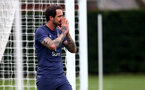 SOUTHAMPTON, ENGLAND - MARCH 31: Danny Ings during a Southampton FC training session at the Staplewood Campus on March 31, 2021 in Southampton, England. (Photo by Matt Watson/Southampton FC via Getty Images)