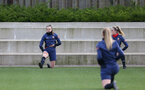 SOUTHAMPTON, ENGLAND - April 01: Ella Pusey during Southampton Women's training session at Staplewood Complex on April 01, 2021 in Southampton, England.  (Photo by Isabelle Field/Southampton FC via Getty Images)