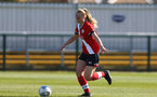 SOUTHAMPTON, ENGLAND - APRIL 04: Rosie Parnell of Southampton during the Vitality Women's FA Cup second round match between Southampton Women and Plymouth Argyle Women at The Snows Stadium on April 04, 2021 in Southampton, England. (Photo by Isabelle Field/Southampton FC via Getty Images)