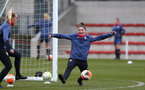 SOUTHAMPTON, ENGLAND - OCTOBER 21: Sara Luce during Southampton Women's training session at Staplewood Complex on October 21, 2020 in Southampton, England. (Photo by Isabelle Field/Southampton FC via Getty Images)