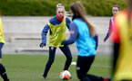 SOUTHAMPTON, ENGLAND - OCTOBER 21: Phoebe Williams during Southampton Women's training session at Staplewood Complex on October 21, 2020 in Southampton, England. (Photo by Isabelle Field/Southampton FC via Getty Images)