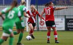 SOUTHAMPTON, ENGLAND - APRIL 11: Rosie Parnell of Southampton during the Vitality Women's FA Cup third round match between Southampton Women and Yeovil United Women at The Snows Stadium on April 11, 2021 in Southampton, England. (Photo by Isabelle Field/Southampton FC via Getty Images)