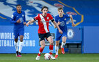 KINGSTON UPON THAMES, LONDON, ENGLAND - APRIL 12: Ethan Burnett  of Southampton during the Premier League 2 match between U23 Chelsea FC and Southampton B Team at the Kingsmeadow Stadium on April 12, 2021 in Kingston upon Thames, London, England.  (Photo by Isabelle Field/Southampton FC via Getty Images)