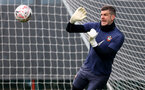 SOUTHAMPTON, ENGLAND - APRIL 14: Fraser Forster during a Southampton FC training session at the Staplewood Campus, on April 14, 2021 in Southampton, England. (Photo by Matt Watson/Southampton FC via Getty Images)