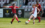 LEWES, ENGLAND - APRIL 18: Rachel Panting during the Women's FA Cup 4th round match between Lewes FC and Southampton at The Dripping Pan on April 18, 2021 in Lewes, United Kingdom. Sporting stadiums around the UK remain under strict restrictions due to the Coronavirus pandemic as UK government social distancing laws prohibit fans inside venues resulting in games being played behind closed doors. (Photo by Chris Moorhouse/Southampton FC via Getty Images)