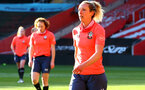 SOUTHAMPTON, ENGLAND - April 22: Shelly Provan  during Southampton Women's training session at St Mary's Stadium on April 22, 2021 in Southampton, England.  (Photo by Isabelle Field/Southampton FC via Getty Images)