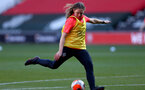 SOUTHAMPTON, ENGLAND - April 22: Lucia Kendall during Southampton Women's training session at St Mary's Stadium on April 22, 2021 in Southampton, England.  (Photo by Isabelle Field/Southampton FC via Getty Images)