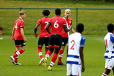 Saints youngsters win seven goal thriller