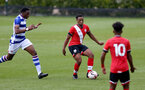 READING, ENGLAND - APRIL 27: Kaya Tshaka of Southampton during the Premier League U18s match between Reading and Southampton U18s at Bearwood Park Training Ground on April 27, 2021 in Reading, England. (Photo by Isabelle Field/Southampton FC via Getty Images)