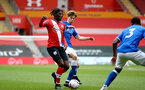 SOUTHAMPTON, ENGLAND - MAY 02: Alex Janekewitz of Southampton during the Premier League 2 match between Southampton B Team and Everton at the St Mayr's Stadium on May 02, 2021 in Southampton, England.  (Photo by Isabelle Field/Southampton FC via Getty Images)