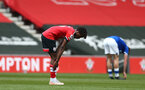 SOUTHAMPTON, ENGLAND - MAY 02: Ramello Mitchell of Southampton during the Premier League 2 match between Southampton B Team and Everton at the St Mayr's Stadium on May 02, 2021 in Southampton, England.  (Photo by Isabelle Field/Southampton FC via Getty Images)
