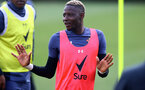 SOUTHAMPTON, ENGLAND - MAY 04: Moussa Djenepo during a Southampton FC training session at the Staplewood Campus on May 04, 2021 in Southampton, England. (Photo by Matt Watson/Southampton FC via Getty Images)