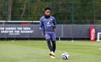 SOUTHAMPTON, ENGLAND - MAY 05: Kyle Walker-Peters during a Southampton FC training session at the Staplewood Campus on May 05, 2021 in Southampton, England. (Photo by Matt Watson/Southampton FC via Getty Images)