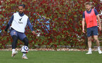 SOUTHAMPTON, ENGLAND - MAY 05: Theo Walcott during a Southampton FC training session at the Staplewood Campus on May 05, 2021 in Southampton, England. (Photo by Matt Watson/Southampton FC via Getty Images)