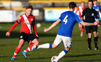 SOUTHPORT, ENGLAND - MAY 07: Sam Bellis of Southampton during the Premier League 2 match between Everton and Southampton B Team at the The Pure Stadium on May 07, 2021 in Southport, England.  (Photo by Isabelle Field/Southampton FC via Getty Images)