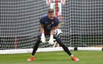 SOUTHAMPTON, ENGLAND - MAY 13: Fraser Forster during a Southampton FC training session at the Staplewood Campus on May 13, 2021 in Southampton, England. (Photo by Matt Watson/Southampton FC via Getty Images)