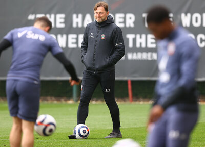 Video: Hasenhüttl on Saints' progress