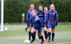 SOUTHAMPTON, ENGLAND - MAY 12: Shelly Provan  during Southampton Women's training session at Staplewood Training Ground on May 12, 2021 in Southampton, England.  (Photo by Isabelle Field/Southampton FC via Getty Images)