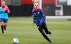 SOUTHAMPTON, ENGLAND - MAY 12: Phoebe Williams during Southampton Women's training session at Staplewood Training Ground on May 12, 2021 in Southampton, England.  (Photo by Isabelle Field/Southampton FC via Getty Images)