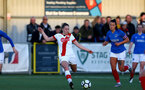 HAVANT, ENGLAND - MAY 19: Ella Morris of Southampton during the Hampshire FA Women's Senior Cup Final against Portsmouth Women and Southampton Women at Westleigh Park on May 19, 2021 in Havant, England. (Photo by Isabelle Field/Southampton FC via Getty Images)