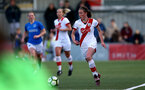 HAVANT, ENGLAND - MAY 19: Rachel Panting of Southampton during the Hampshire FA Women's Senior Cup Final against Portsmouth Women and Southampton Women at Westleigh Park on May 19, 2021 in Havant, England. (Photo by Isabelle Field/Southampton FC via Getty Images)