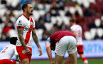 LONDON, ENGLAND - MAY 23: Danny Ings of Southampton dejected during the Premier League match between West Ham United and Southampton at London Stadium on May 23, 2021 in London, England. (Photo by Matt Watson/Southampton FC via Getty Images)