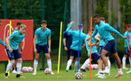 SOUTHAMPTON, ENGLAND - July 05: during Southampton B Team per season training session at Staplewood training ground on July 05, 2021 in Southampton, England. (Photo by Isabelle Field/Southampton FC via Getty Images)