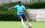 SOUTHAMPTON, ENGLAND - July 05: Romello Mitchell during Southampton B Team per season training session at Staplewood training ground on July 05, 2021 in Southampton, England. (Photo by Isabelle Field/Southampton FC via Getty Images)