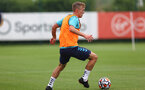 SOUTHAMPTON, ENGLAND - JULY 07: James Ward-Prowse during a Southampton FC pre-season training session at The Staplewood Campus on July 07, 2021 in Southampton, England. (Photo by Matt Watson/Southampton FC via Getty Images)