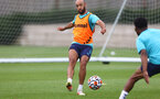 SOUTHAMPTON, ENGLAND - JULY 07: Nathan Redmond during a Southampton FC pre-season training session at The Staplewood Campus on July 07, 2021 in Southampton, England. (Photo by Matt Watson/Southampton FC via Getty Images)