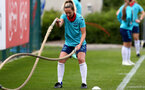 SOUTHAMPTON, ENGLAND - JULY 15: Shelly Provan during Southampton Women's per-season training session at Staplewood Complex on July 15, 2021 in Southampton, England. (Photo by Isabelle Field/Southampton FC via Getty Images)