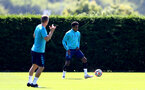 SOUTHAMPTON, ENGLAND - JULY 16: Kyle Walker-Peters during pre-season training session at Staplewood Complex on July 16, 2021 in Southampton, England. (Photo by Isabelle Field/Southampton FC via Getty Images)