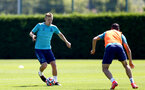 SOUTHAMPTON, ENGLAND - JULY 16: James Ward-Prowse during pre-season training session at Staplewood Complex on July 16, 2021 in Southampton, England. (Photo by Isabelle Field/Southampton FC via Getty Images)