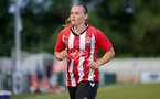 SOUTHAMPTON, ENGLAND - July 20: Shannon Sievwright during per-season friendly between Saints Women and Southampton Women Development team at The Snows Stadium on July 20, 2021 in Southampton, England. (Photo by Isabelle Field/Southampton FC via Getty Images)